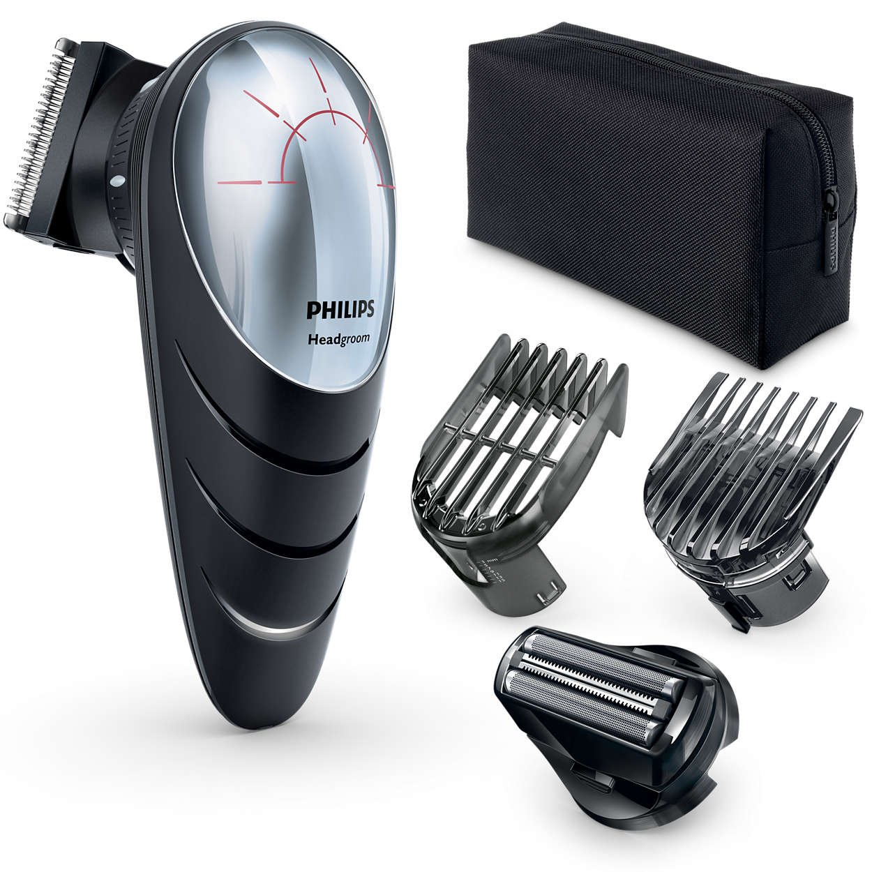 Philips QC5580 Do-it-Yourself Hair Clippers with Head Shaver Attachment by PHILIPS