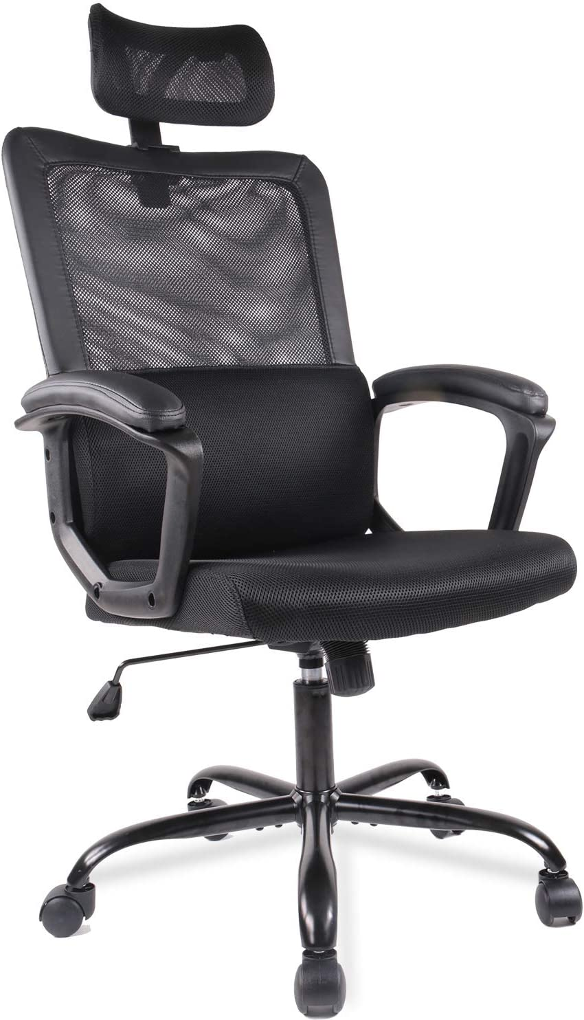 Mesh chair Black Desk Chair Computer Office Chair