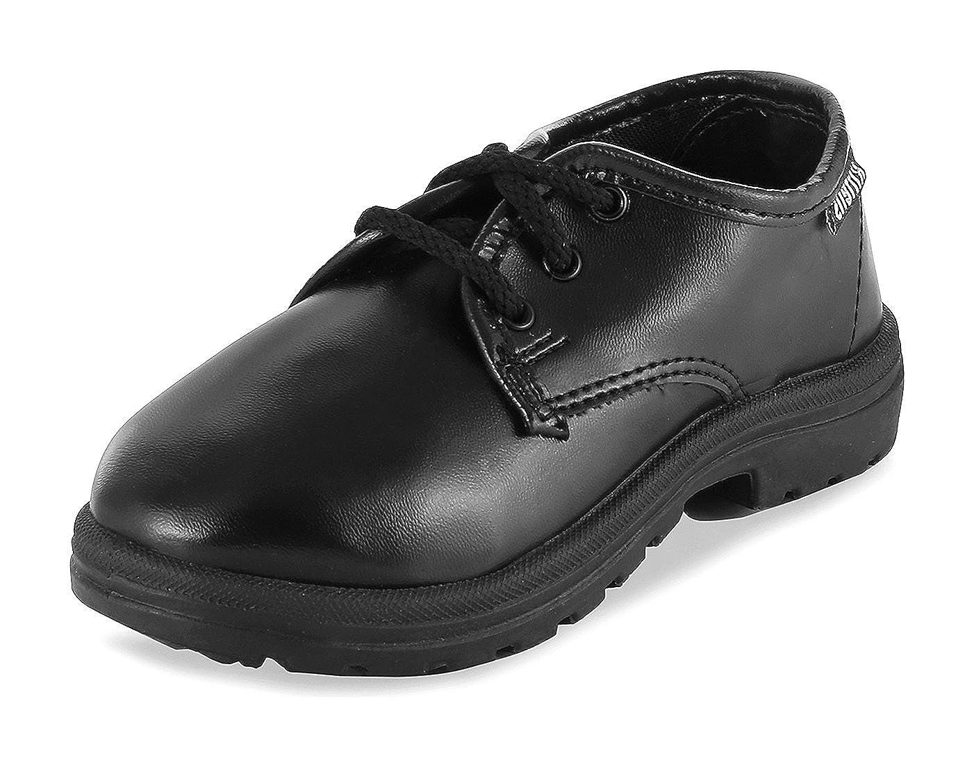 Buy KITTENS Boys' Black School Shoes