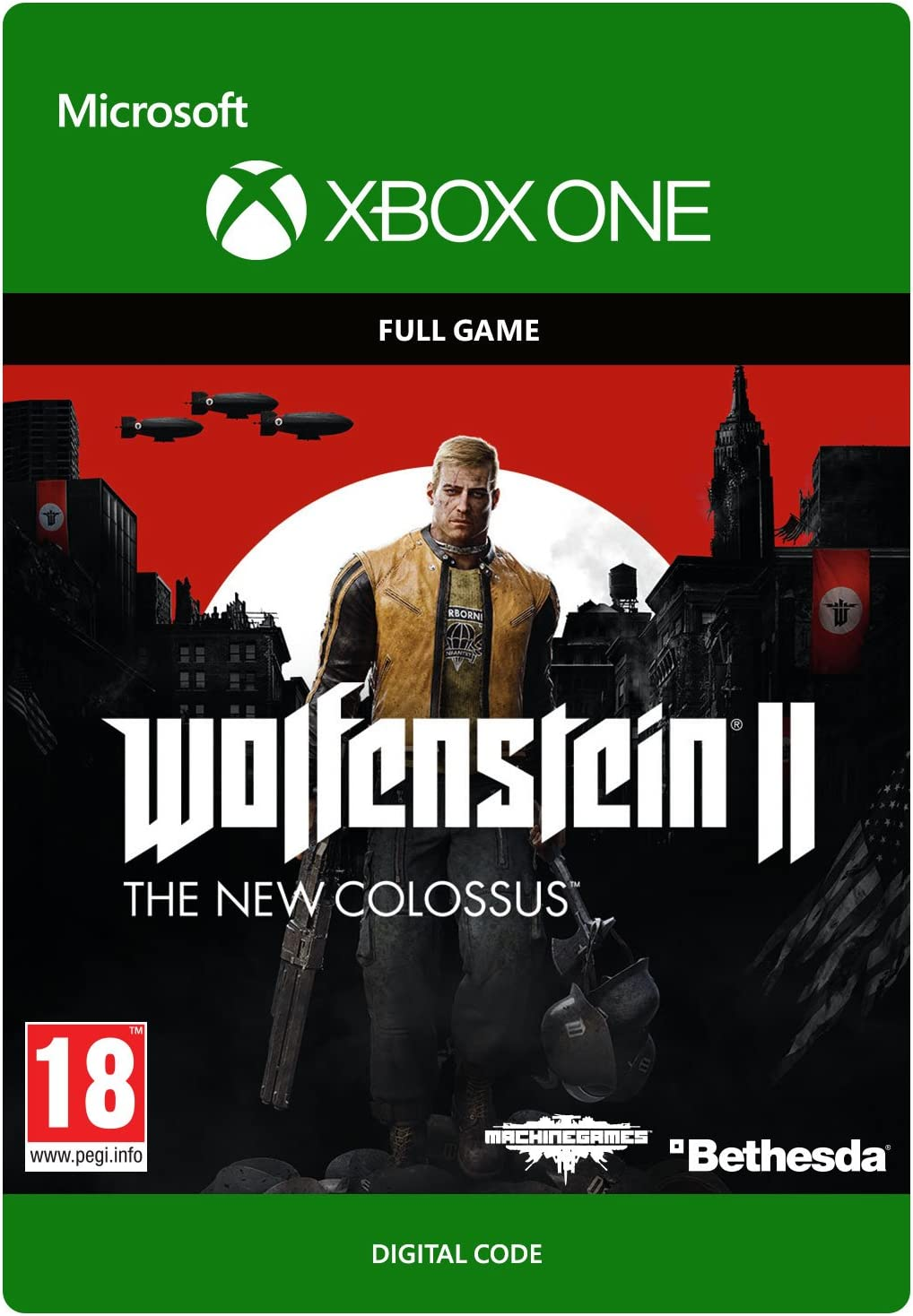 Wolfenstein II: The New Colossus - Standard Edition | Xbox One ...
