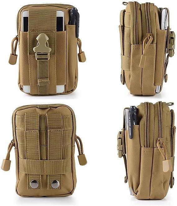 Tactical Waist packbelt Sac Camping outdoorhiking Voyage Pochette Portefeuille UK 8col