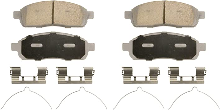 A-Pads Rear BRAKE PADS For 2006 2007 FORD F-150 Complete set 4 pieces