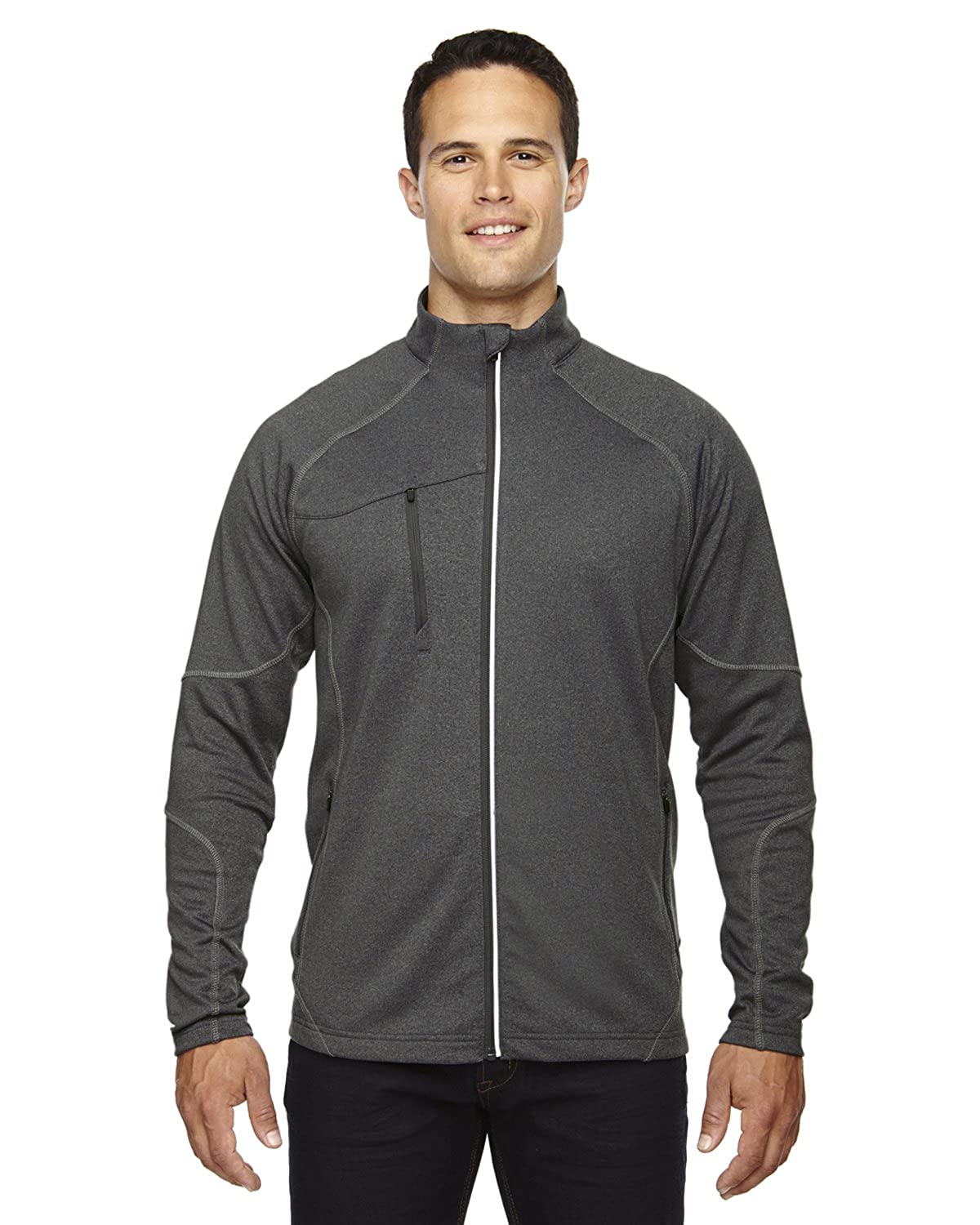 North End 88174 Gravity Mens Jacket Ash City - North End
