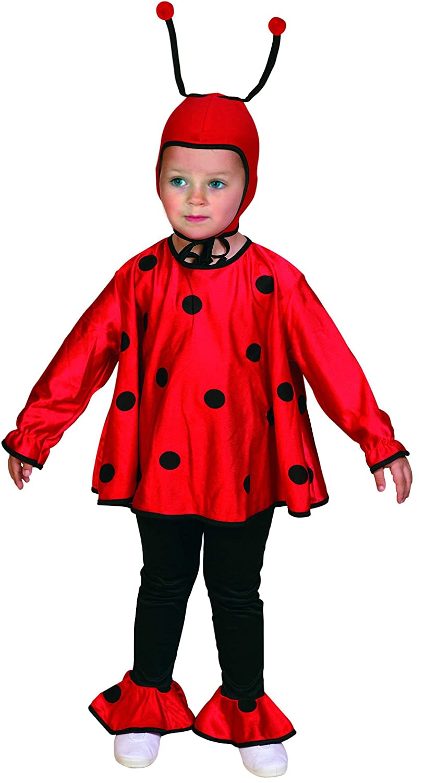 Atosa - Disfraz de mariquita para niña, talla 3-5 años: Amazon.es ...