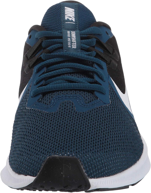 Nike WMNS Downshifter 9, Chaussures de Running Femme Valerian Blue White Black Vivid Purple