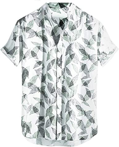 Camisas Hombre Flores 2019 Moda Playa de Verano Impresión ...