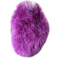 Women Real Ostrich Feather Neckerchief Scarf Fluffy Winter Warm