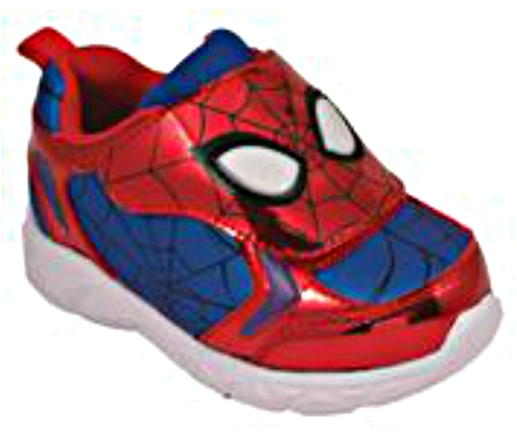 Favorite Characters Baby Boy's Spider-Man Athletic SPF366 Lighted (Toddler/Little Kid) Red/Blue 7 M US Toddler