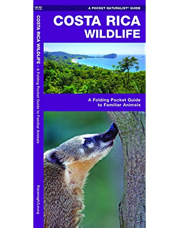 Costa Rica Wildlife: A Folding Pocket Guide to Familiar Animals (Pocket Naturalist Guides)