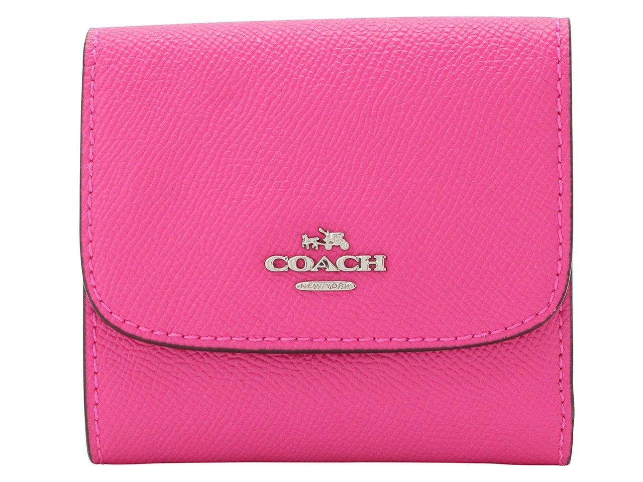 (コーチ) COACH 財布 三つ折り ミニ コンパクト レザー アウトレット [並行輸入品] B075DBZ191 ブライトフーシャ ブライトフーシャ