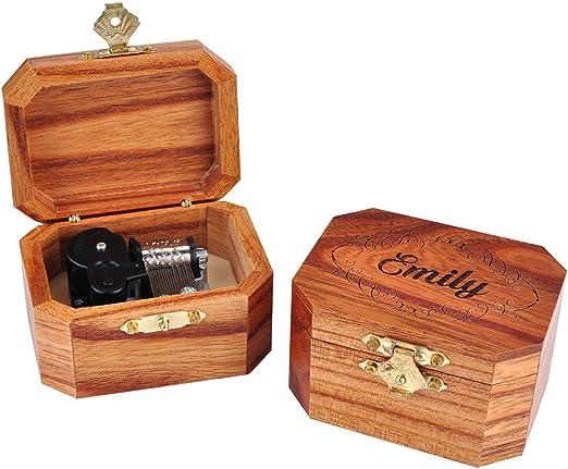 Awerise Personalizada de madera caja Musical de Octangle, Custom ...