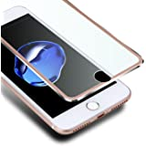iPhone 8 7 Protection écran,VIUME Film Protection en Verre trempé écran Protecteur pour Apple iPhone 7 / iPhone 8 vitre Haute Définition Dureté 9H [Compatible 3D Touch] (4.7 pouce) (Métal Or rose)