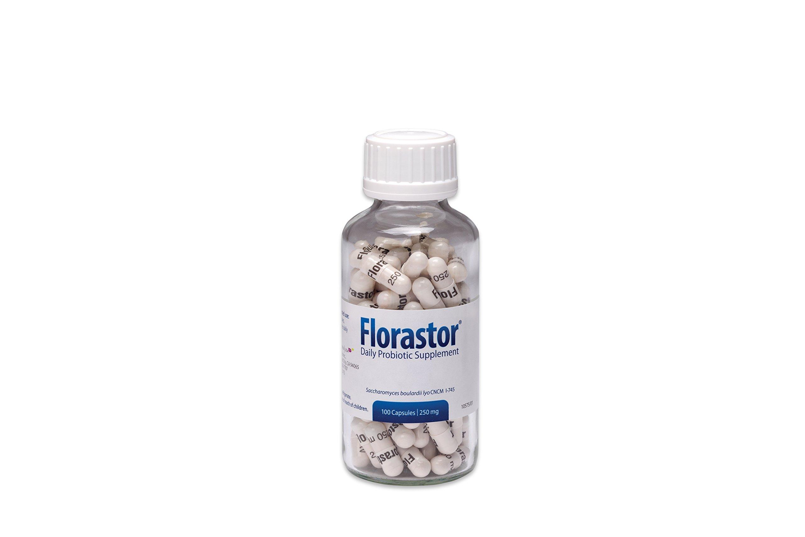 Florastor Daily Probiotic Supplement for Men and Women – Saccharomyces Boulardii lyo CNCM I-745 (250 mg; 100 Capsules) by Florastor (Image #3)