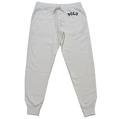Polo Ralph Lauren Womens Jogger Sweatpants (X-Small, Ivory)