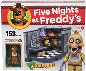 Five Nights at Freddys Kit de Construcción Back Stage: Amazon.es: Juguetes y juegos