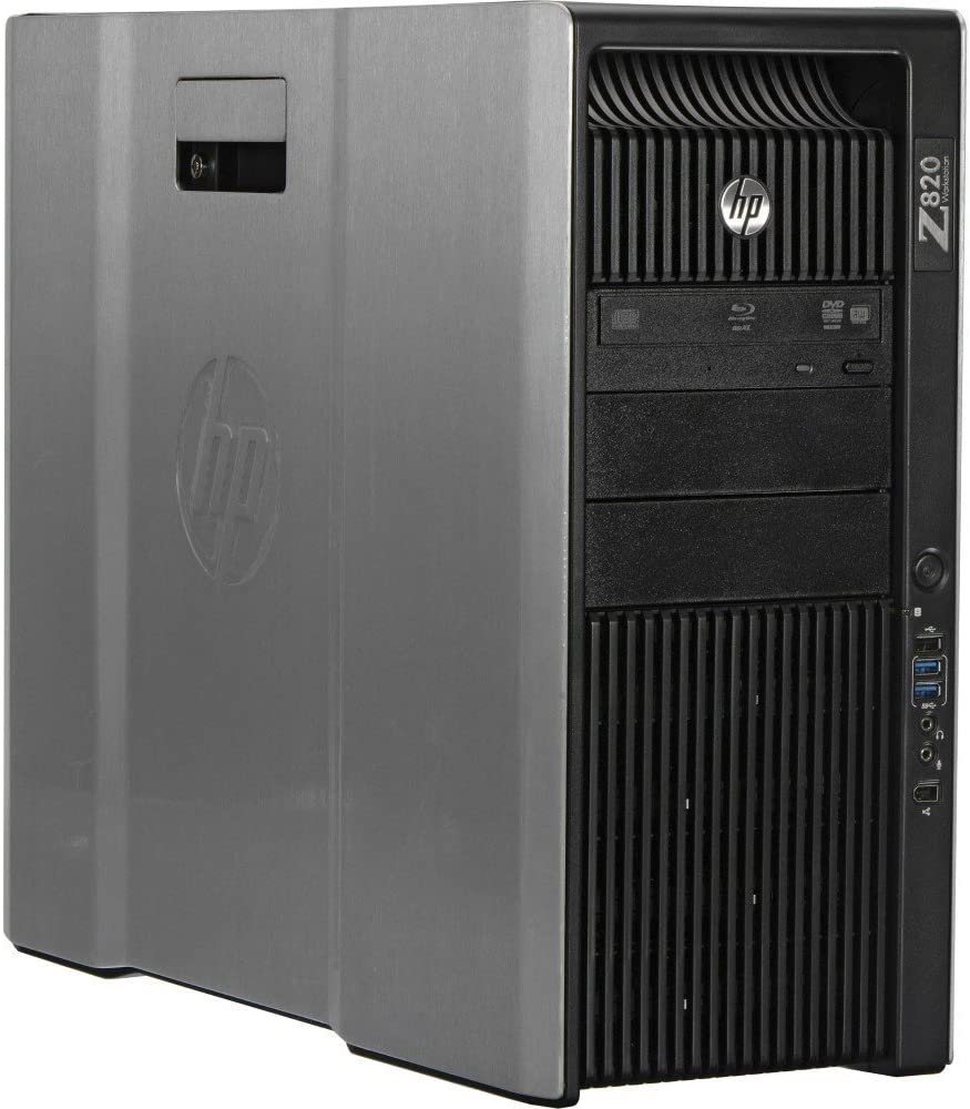 HP Z820 Workstation 2x E5-2660 Eight Core 2.2Ghz 64GB 256GB SSD K2000 Win 10 Pre-Install (Renewed)