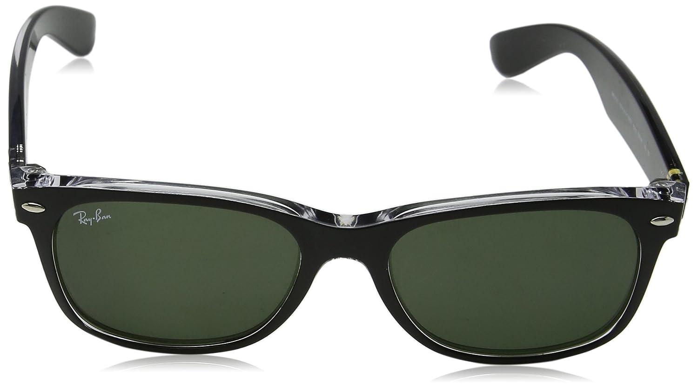7c62d67646 Amazon.com: Ray-Ban New Wayfarer Sunglasses, Black: Ray-Ban: Shoes