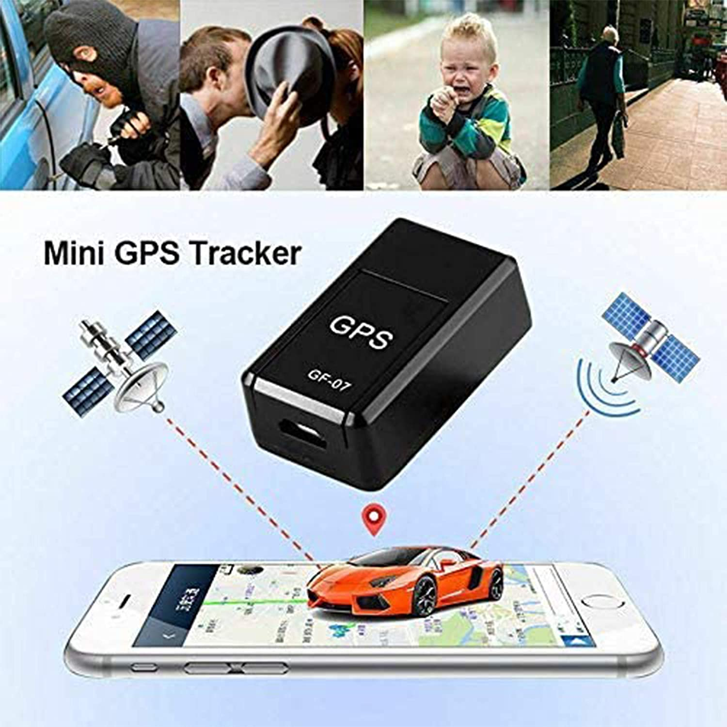 Employees Elderly Hidden Car Tracker with Audio Listening for Covert Monitoring of Teen Drivers Kids Assets 2020 Upgrade Magnetic Mini GPS Locator-ai Intelligent Noise Reduction