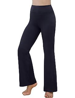 6c7e05f8ef8b2 REETOYO Women's Power Flex Tummy Control Workout Yoga Boot Cut Flares Pants  with Inner Pocket