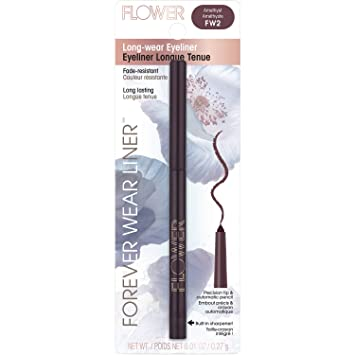 Amazon.com : Flower Forever Wear Liner Long-wear Eyeliner (FW2 ...