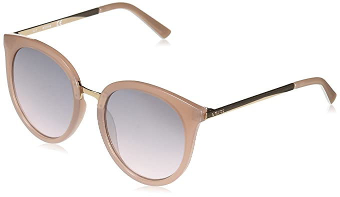 603b5dbbb4 Amazon.com  GUESS Womens GF0324 Milky Blush With Rose Gold Pink Gradient  Flash Lens One Size  Clothing