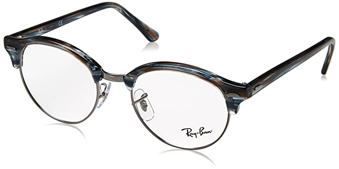 7698cca2e0 Ray-Ban Clubround, Monturas de Gafas Unisex adulto: Amazon.es: Ropa ...