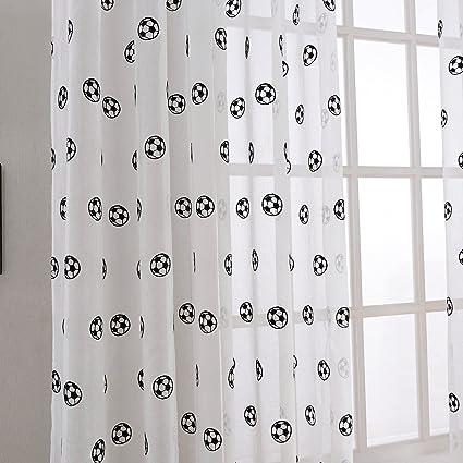 gardinen fussball design pauwnieuws. Black Bedroom Furniture Sets. Home Design Ideas