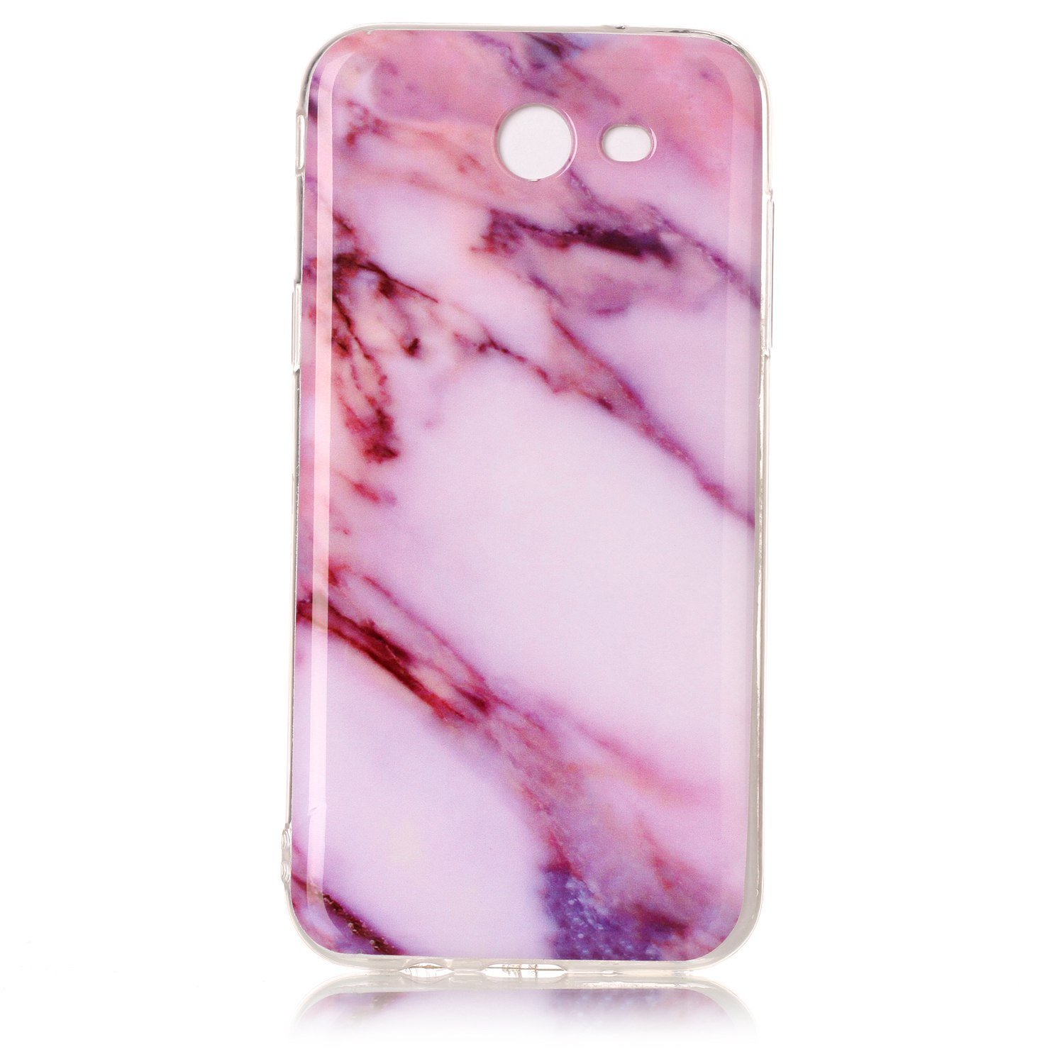 NEXCURIO Galaxy J3 Emerge/Express Prime 2/Amp Prime 2/J3 Luna Pro/J3 Prime Case Marble Soft Silicone Shockproof Scratch Resistant Protective Cover for Samsung Galaxy J3 (2017) - YHU102191 #5