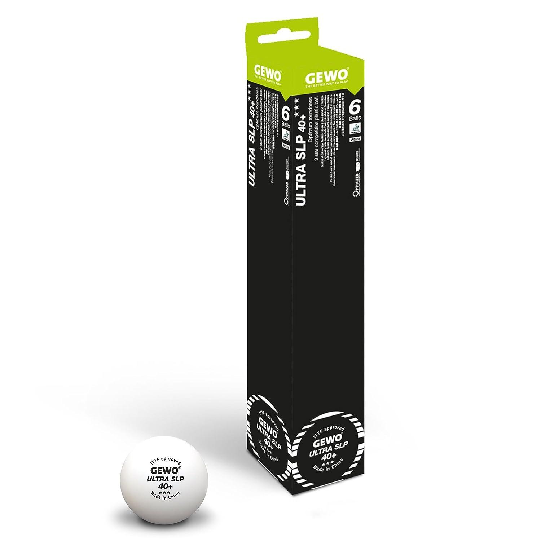 GEWO Ball Ultra SLP 40+ *** 6er weiß Weiß GEWO6|#GEWO 81351200