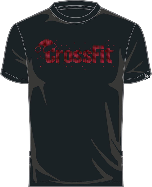 Reebok Crossfit Christmas Graphic Camiseta Hombre - algodón: Amazon.es: Ropa y accesorios