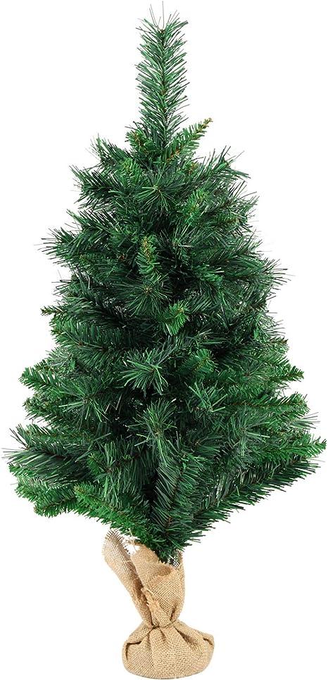 60-240cm Weihnachtsbaum Kunstbaum Christbaum Tannenbaum Künstlicher Baum PVC NEU