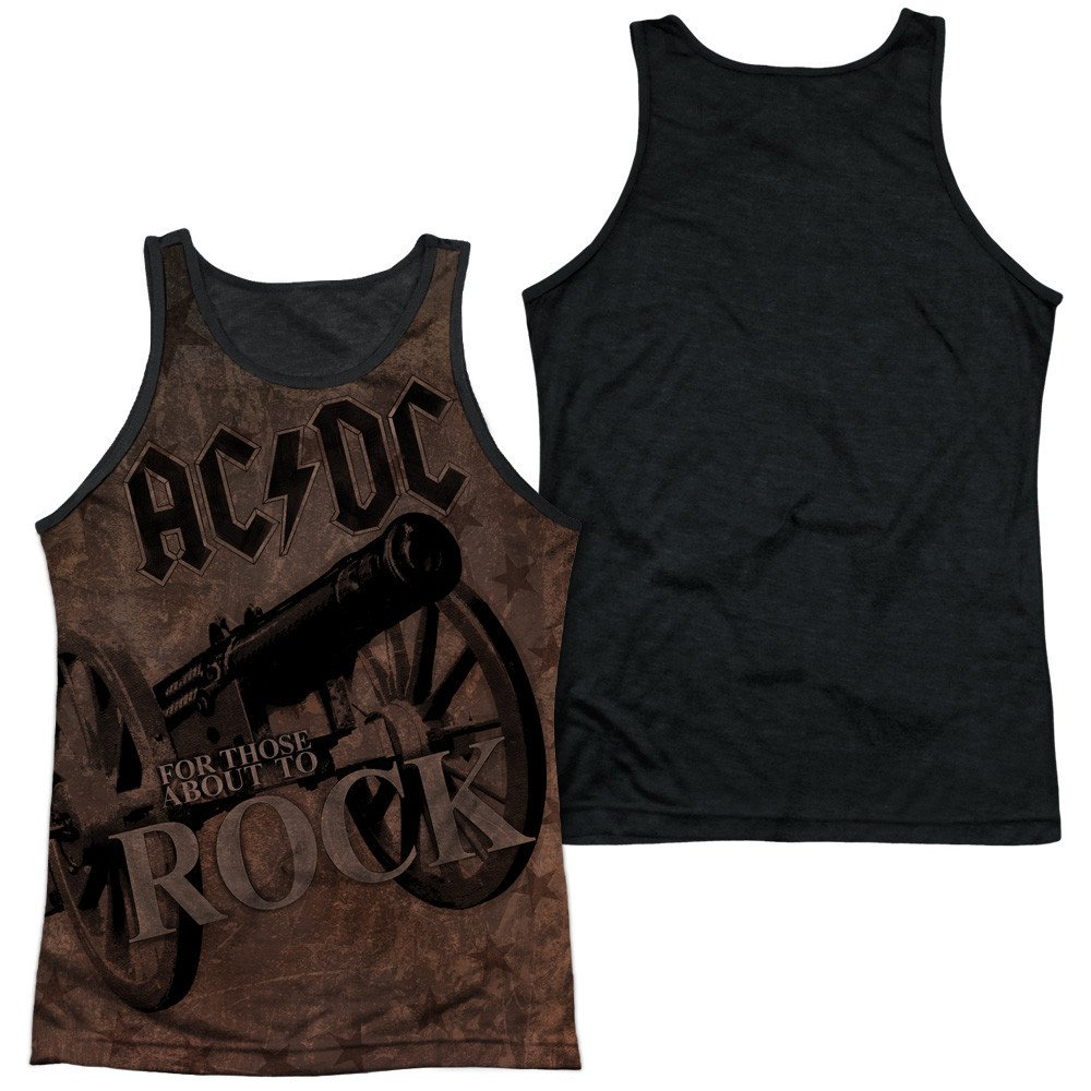 Sons of Gotham ACDC We Salute You Adult Tank Top