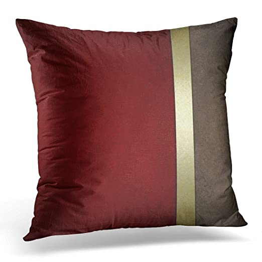 Amazon.com: Duplins - Funda de almohada de color rojo ...