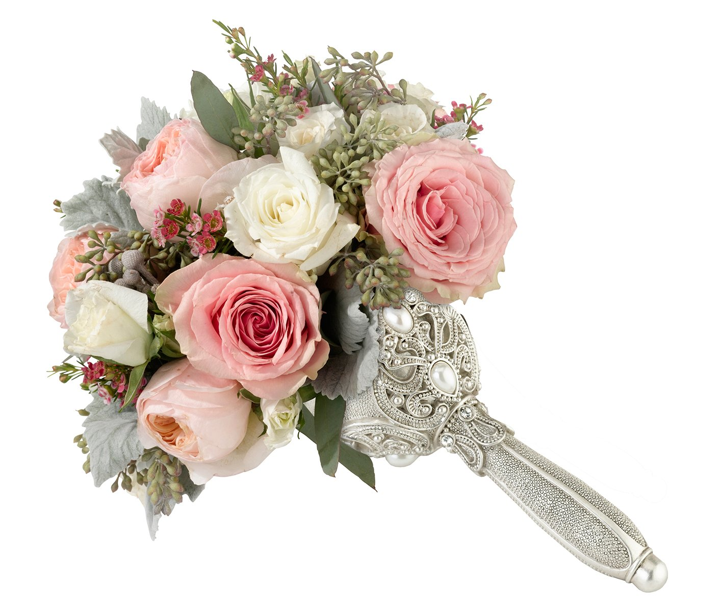 Bridal Bouquet Holder Fashionable Elegant Jeweled Wedding ...