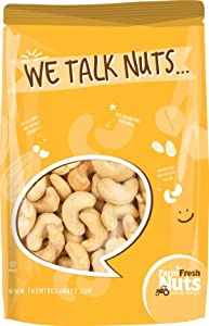 CASHEWS, Dry Roasted to perfection And SEA SALTED - CRUNCHY - RESEALABLE BAG (2 LB).