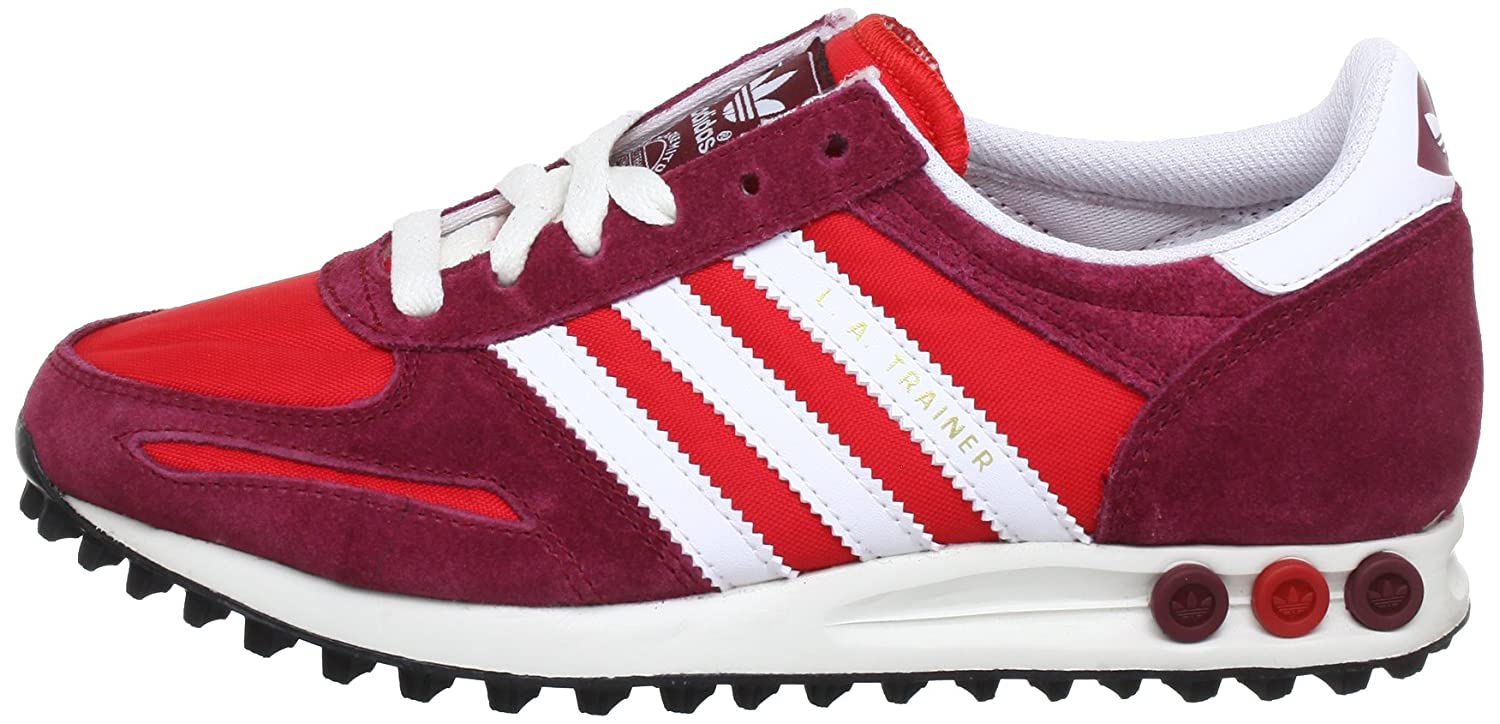 ADIDAS Originals LA Trainer Mens Sneaker Q20742 Red (vivid