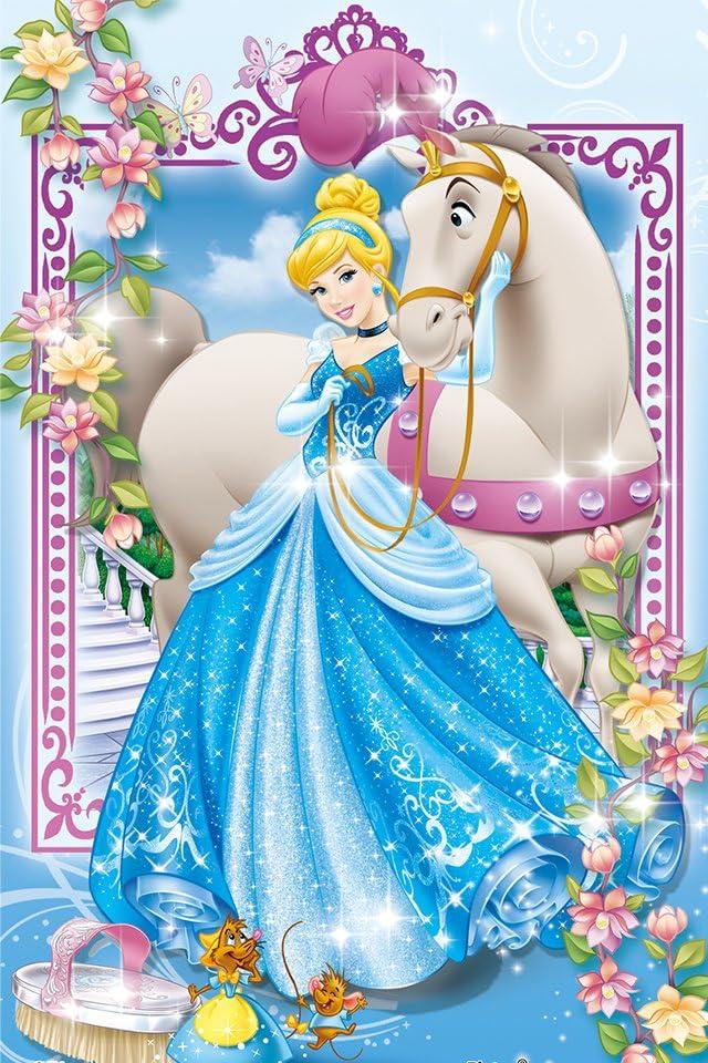 ディズニー シンデレラ エレガントプリンセス iPhone(640×960)壁紙画像