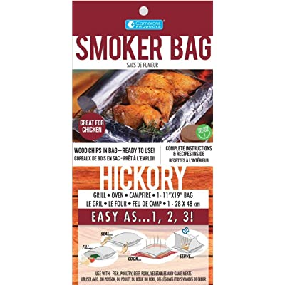 Savu Smoker Bag for the Oven & Grill in Hickory, 3 Pack : Smoker Chips : Grocery & Gourmet Food