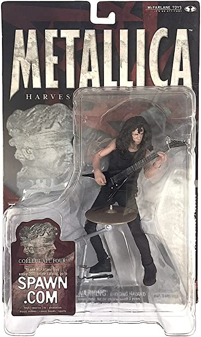 Metallica Harvesters of Sorrow Kirk Hammett McFarlane