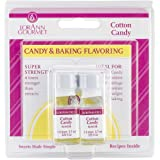 Lorann Oils Candy and Baking Flavoring Bottle (2 /Pack), .125 Ounce, Cotton Candy