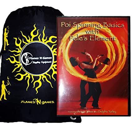 Amazon.com: POI Spinning Basics con el elemento de Pele DVD ...