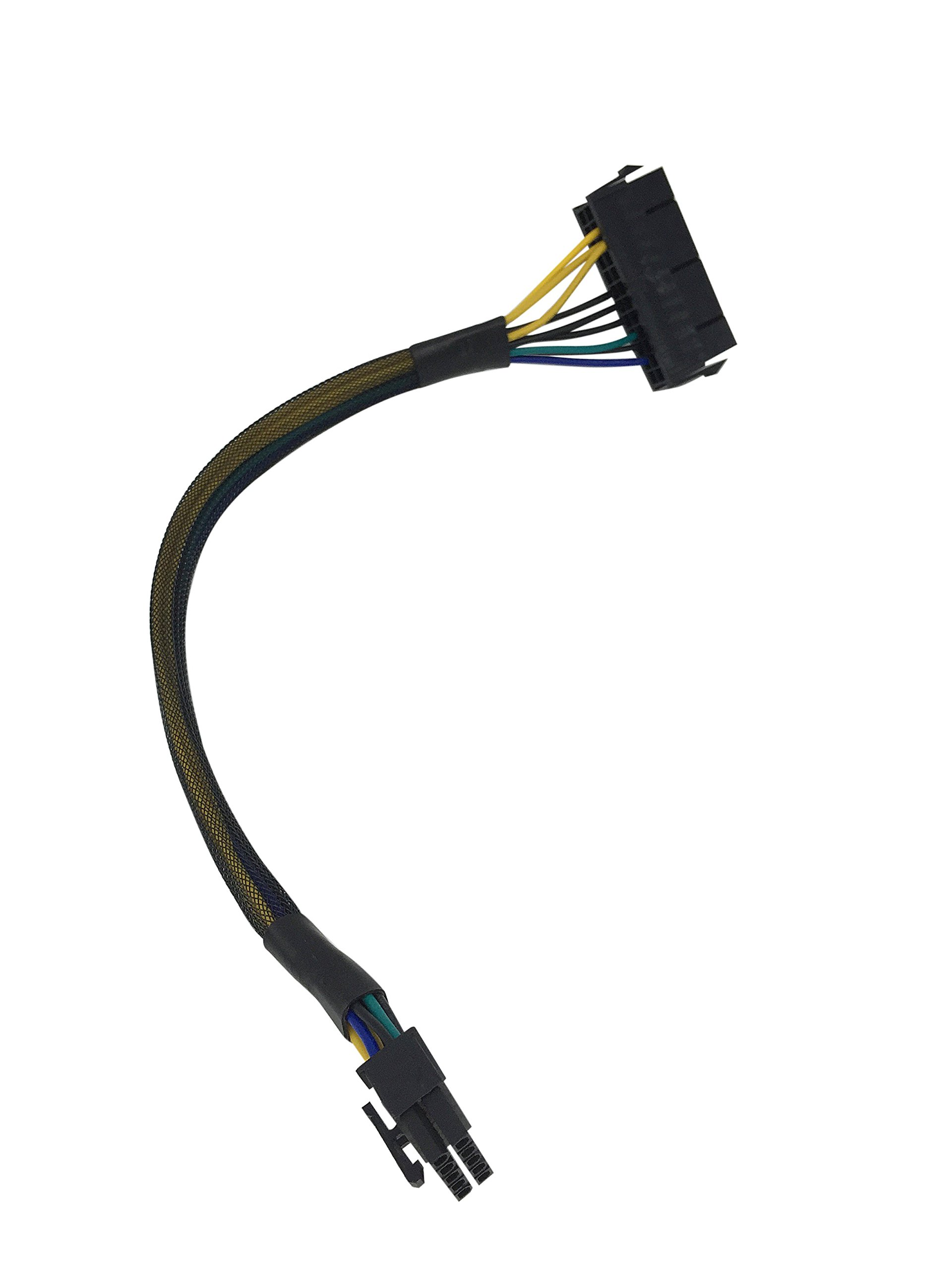 Eyeboot 24 Pin to 10 Pin Power Supply ATX PSU Adapter Cable for computer PC Motherboard