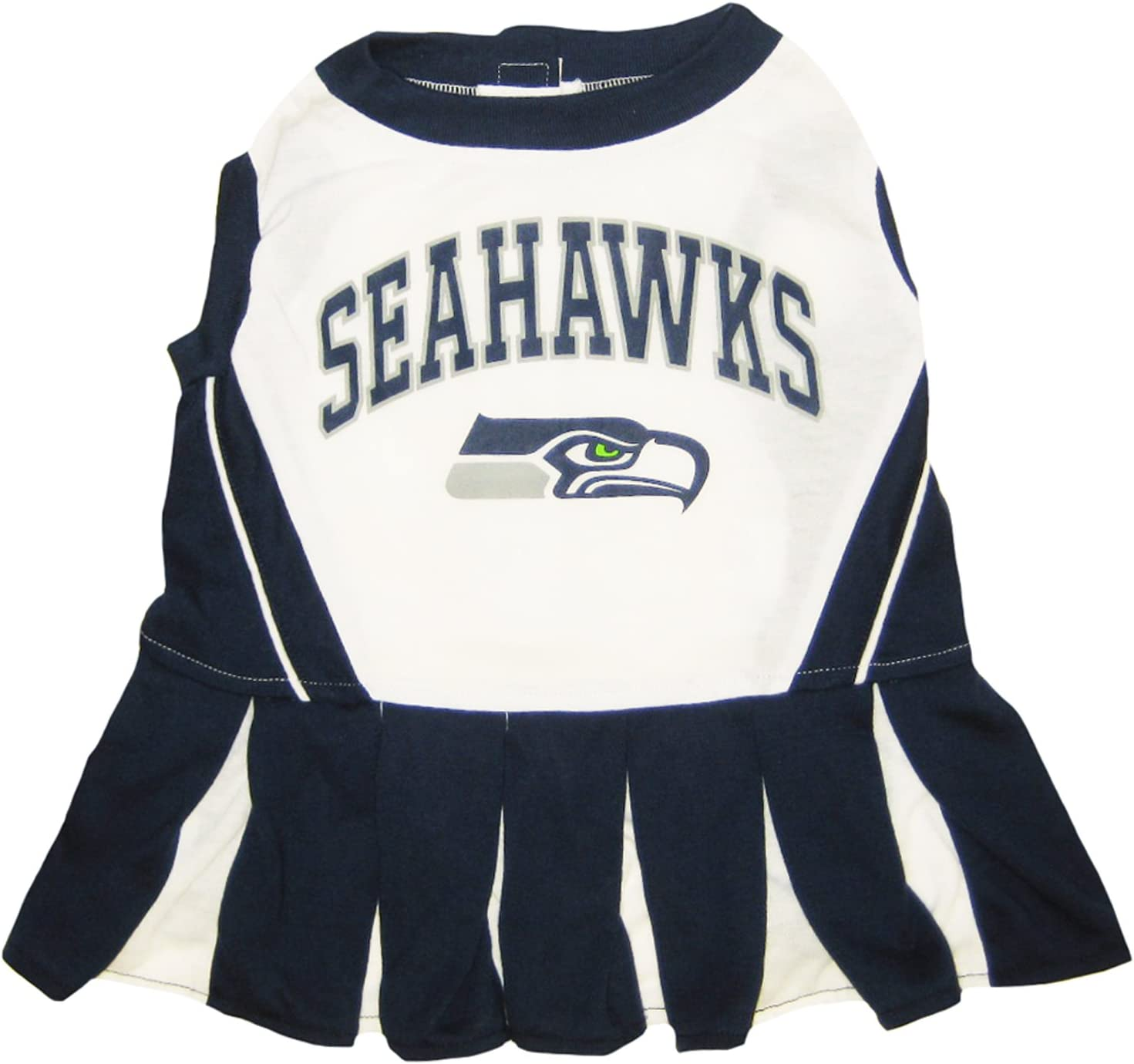 NFL CHEERLEADER For Dogs and Cats. - All 32 Teams and 3 Sizes available. - NFL Cheerleader Dress. - Cheerleader Outfit for Pets 71-61YOGF5L