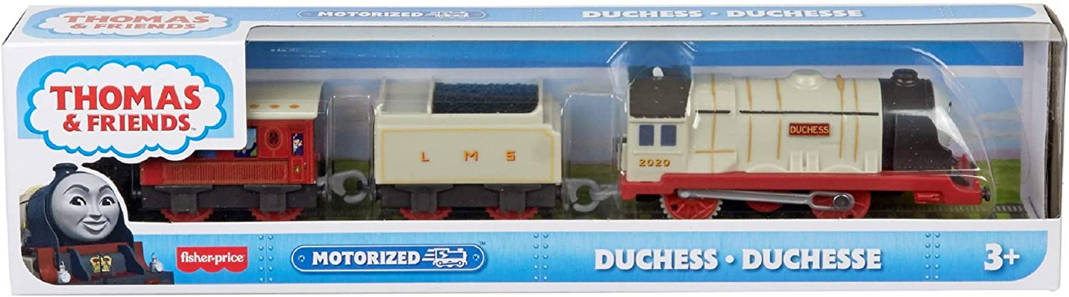 Thomas & Friends Duchess Battery Powered Motorized Toy Train Engine for Preschool Kids Ages 3 Years and up