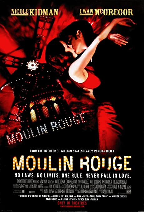 Moulin Rouge Movie Poster 70 X 45 cm: Amazon.co.uk: Kitchen & Home