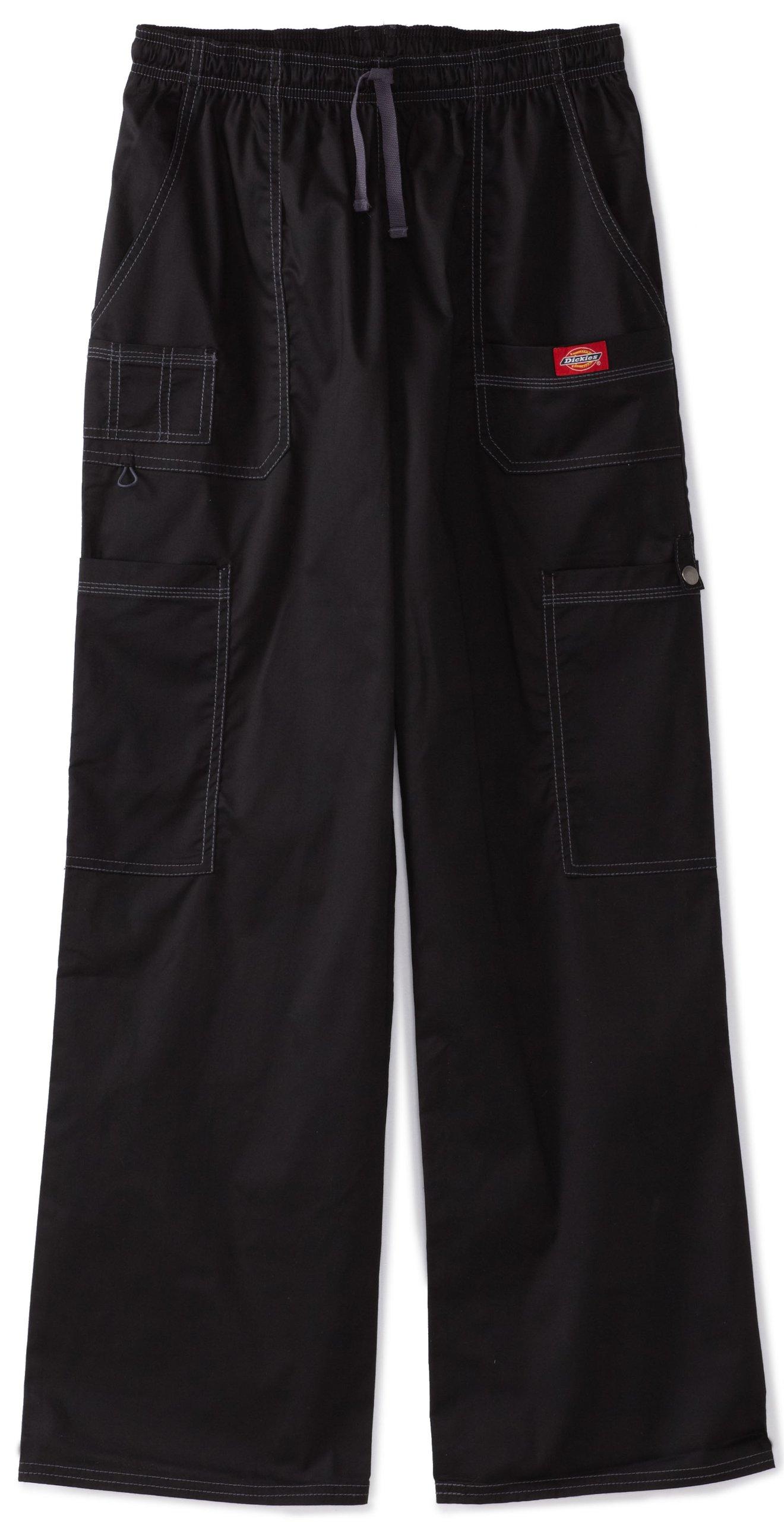 Dickies Generation Flex Men's Youtility Scrub Pants,Black,Medium