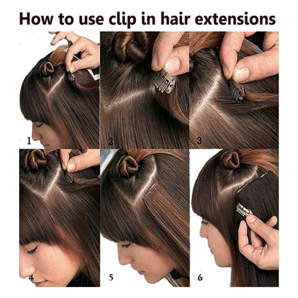 Amazon synthetic hair extensions clip on japanese kanekalon amazon synthetic hair extensions clip on japanese kanekalon fiber hairpieces full head thick long straight soft silky 8pcs 18clips for women girls lady pmusecretfo Gallery