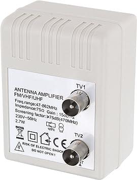 Hava 2 Geräte Digital Steckdose Antennenverstärker Elektronik