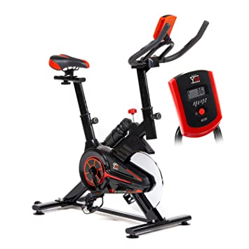 Bicicleta de spinning y fitness «Bike Your Move» para cardio: Amazon ...