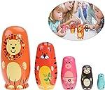 TOYMYTOY Nesting Dolls Five Cute Russian Dolls Toy Gift